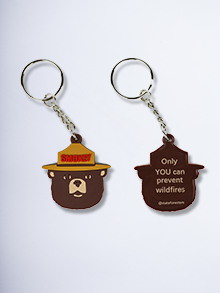 Smokey Imprint Keychain (set of 50)